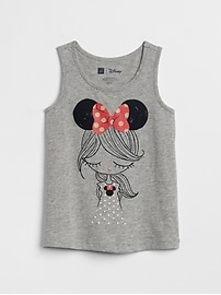 GapKids &#124 Disney Minnie Mouse and Mickey Mouse タンクトップ
