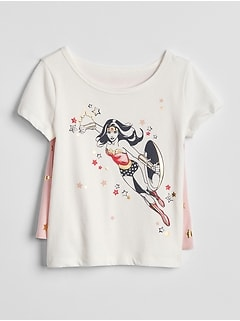GapKids &#124 Wonder Woman&#153 ケープTシャツ