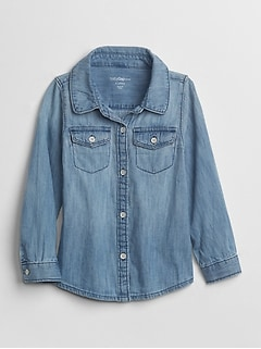 1969 light chambray shirt