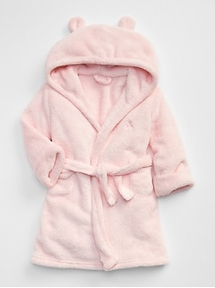 Fleece bear robe (ベビー)