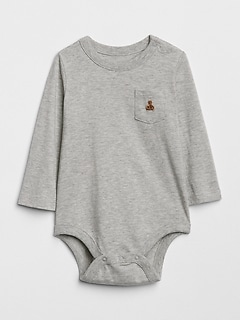 Brannan pocket bodysuit (ベビー)