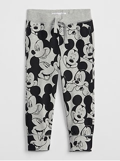 babyGap &#124 Disney Mickey Mouse プルオンパンツ