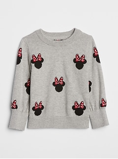 babyGap &#124 Disney Minnie Mouse クルーネックセーター