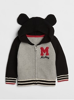 babyGap &#124 Disney Mickey Mouse ガーターセーター