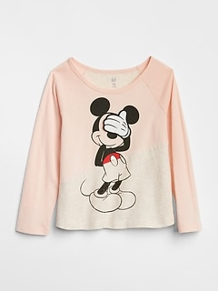 babyGap &#124 Disney Mickey Mouse and Minnie Mouse かくれんぼTシャツ
