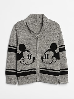 babyGap &#124 Disney Mickey Mouse カーディガンセーター