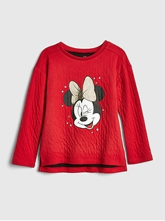 babyGap &#124 Disney Minnie Mouse スウェットシャツ