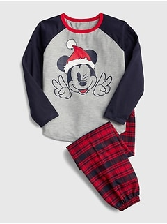GapKids &#124 Disney Mickey Mouse パジャマセット
