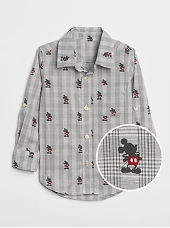 babyGap &#124 Disney Mickey Mouse シャツ