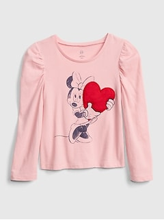 babyGap &#124 Disney Minnie Mouse Tシャツ (幼児)
