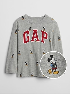 babyGap &#124 Disney Mickey Mouse ロゴTシャツ