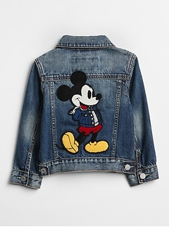 GapKids &#124 Disney Mickey Mouse デニムジャケット