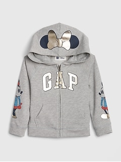 babyGap &#124 Disney Logo Mickey Mouse パーカー(フリース)