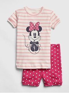 babyGap &#124 Disney Minnie Mouse 半袖パジャマセット (ベビー)