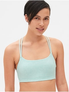 Breathe low impact pullover bra
