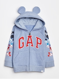 babyGap | Disney Mickey Mouse Gapロゴ スウェットパーカー