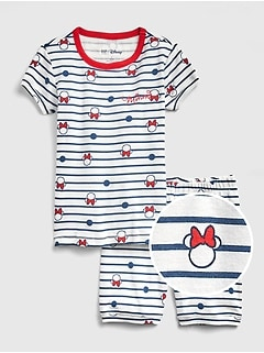 GapKids &#124 Disney Minnie Mouse 半袖パジャマセット