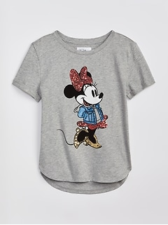 GapKids | Disney Mickey Mouse and Minnie Mouse Tシャツ