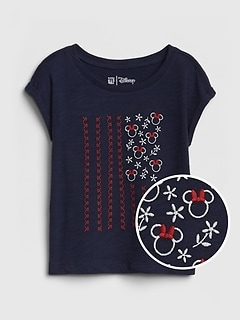 babyGap | Disney Minnie Mouse 半袖Tシャツ (幼児)
