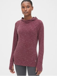 GapFit Breathe heathered hoodie