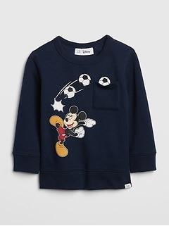 babyGap | Disney Mickey Mouse スウェットシャツ
