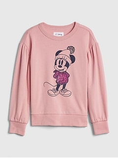 GapKids | Disney Minnie Mouse スウェットシャツ