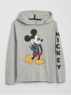 GapKids | Disney Mickey Mouse パーカーTシャツ