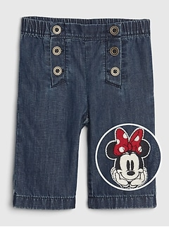 babyGap | Disney Minnie Mouse ワイドレッグジーンズ