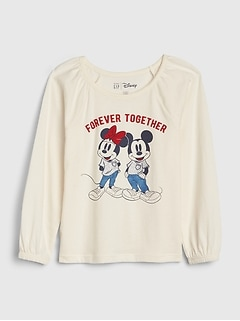 babyGap | Disney Mickey Mouse and Minnie Tシャツ