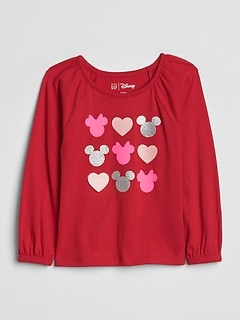 babyGap | Disney Mickey Mouse and Minnie Mouse Tシャツ