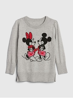 babyGap | Disney Mickey Mouse and Minnie Mouse チュニックセーター