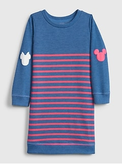 babyGap | Disney Mickey Mouse and Minnie Mouse スウェットワンピース