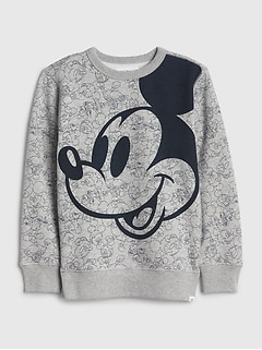 GapKids | Disney Mickey Mouse スウェットシャツ