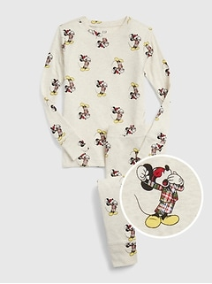 GapKids | Disney Mickey Mouse ホリデーパジャマセット