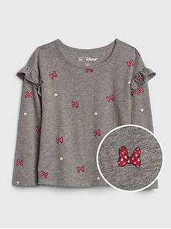 babyGap | Disney Minnie Mouse ラッフルTシャツ