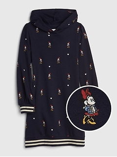 GapKids | Disney Minnie Mouse パーカーワンピース