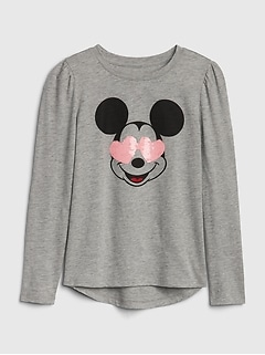 GapKids | Disney Minnie Mouse and Mickey Mouse Tシャツ