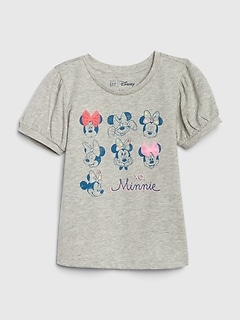 babyGap | Disney Minnie Mouse パフスリーブTシャツ