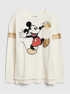 GapKids | Disney Minnie Mouse and Mickey Mouse チュニックTシャツ