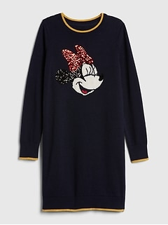 GapKids | Disney Minnie Mouse セーターワンピース