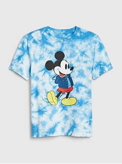 GapKids | Disney Mickey Mouse タイダイTシャツ