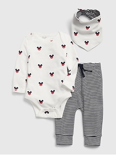 babyGap | Disney Mickey Mouse 3ピース ギフトセット