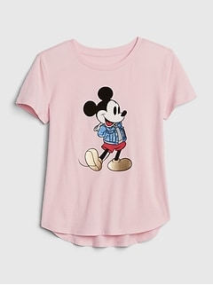 GapKids | Disney Mickey and Minnie Mouse Tシャツ