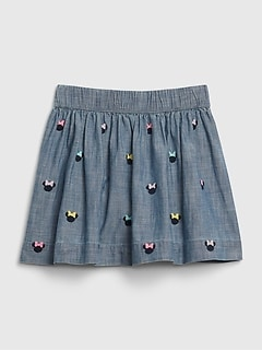 babyGap | Disney Minnie Mouse シャンブレースカート