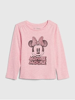 babyGap | Disney Minnie Mouse 長袖Tシャツ