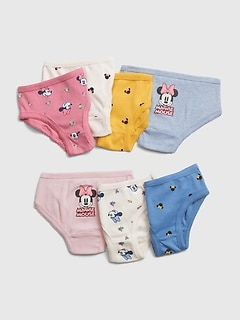 babyGap | Disney Minnie Mouse 7枚組ビキニブリーフ