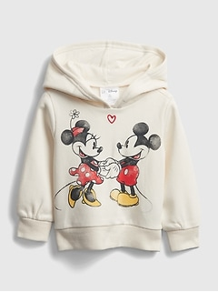babyGap | Disney Mickey Mouse and Minnie Mouse グラフィックパーカー