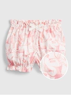 babyGap | Disney Minnie Mouse 100% Organic Cotton Pull-On Shorts